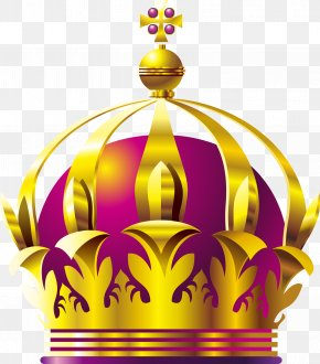 Vector Hand-painted Crown - Euclidean Vector Crown PNG