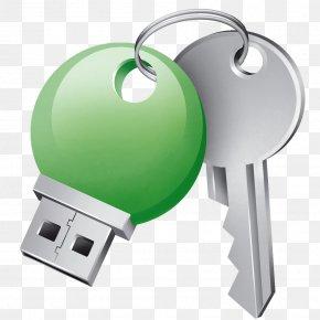 Key - Key Login USB Flash Drives Computer Security PNG