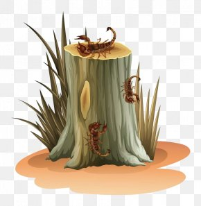 Stakes And Scorpions - Euclidean Vector Tree Stump Clip Art PNG