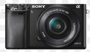 Sony A6000 - Sony α6000 Sony Alpha 6300 Sony ILCE Camera Mirrorless Interchangeable-lens Camera APS-C PNG