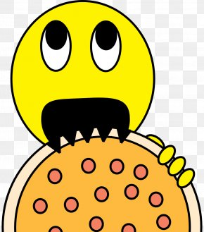 Wikipedia Page Cliparts - Pizza Smiley Free Content Clip Art PNG