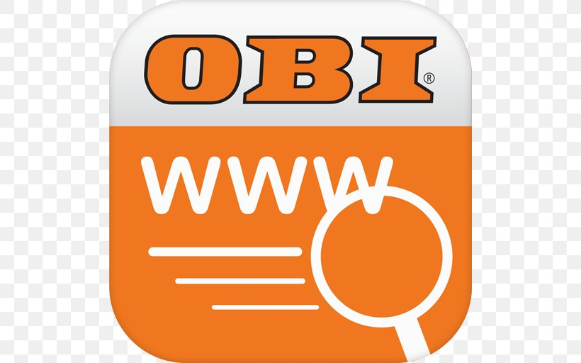 OBI Stuttgart-Westbahnhof Würzburg C&A Logo, PNG, 512x512px, Obi, Advertising, Area, Brand, Logo Download Free