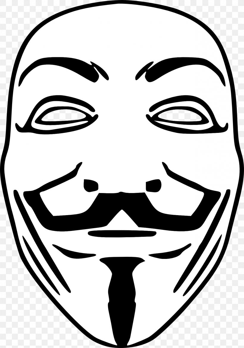 Occupy Movement Guy Fawkes Mask Anonymous V For Vendetta, PNG, 1283x1828px, Occupy Movement, Anonymous, Art, Black, Black And White Download Free