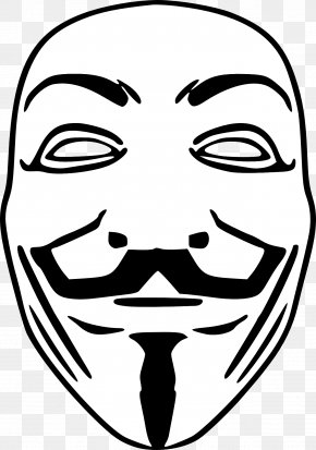 Anonymous Mask - Occupy Movement Guy Fawkes Mask Anonymous V For Vendetta PNG