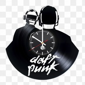 Daft Punk - Daft Punk Phonograph Record LP Record Art Vinyl Group PNG