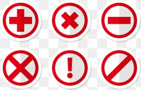 Red Cross Symbol Multiplication Sign Ban - Symbol Multiplication Sign Euclidean Vector PNG