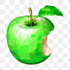 Creative Lattice-like Green Apple - Apple Icon Image Format Icon PNG