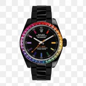 Gradient Color - Chronograph Rolex Milgauss Watch Jewellery Armani PNG