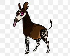 Tongue - Okapi Mule Cartoon Comics Drawing PNG