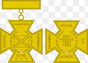 Symbol - Confederate States Of America Southern United States American Civil War Southern Cross Of Honor United Daughters Of The Confederacy PNG