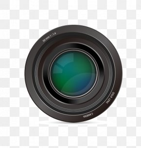 Hand-painted The Camera Lens Vector Material - Camera Lens Lens Cover Teleconverter Mirrorless Interchangeable-lens Camera PNG