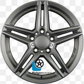Silver - Alloy Wheel Rim Silver Spoke Bicycle Wheels PNG
