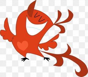 Flaming Bird - Beak Cartoon Character Clip Art PNG