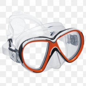 Mask - Aqua Lung/La Spirotechnique Aqua-Lung Scuba Set Diving & Snorkeling Masks Scuba Diving PNG