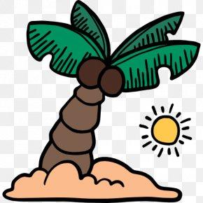 Leaf - Leaf Arecaceae Palm Branch Coconut Clip Art PNG