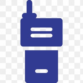 Walkie Talkie - Police Radio Station Communication Technology PNG