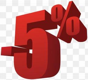 5% Off Sale Transparent Image - Sales Clothing Handbag Shopping PNG