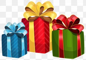 Gift Box - Christmas Gift Clip Art PNG