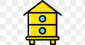 Bee - Western Honey Bee Beehive Beekeeping Apiary PNG