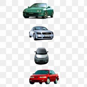 A Row Of Car Sports Car - Sports Car Sedan Download PNG
