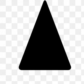 Round Triangle - Triangle Shape Clip Art PNG