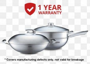 Steel Pot - Frying Pan Cookware Stainless Steel Thermoses Lid PNG