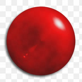 Lacrosse Ball Sphere - Red Ball Sphere Circle Lacrosse Ball PNG