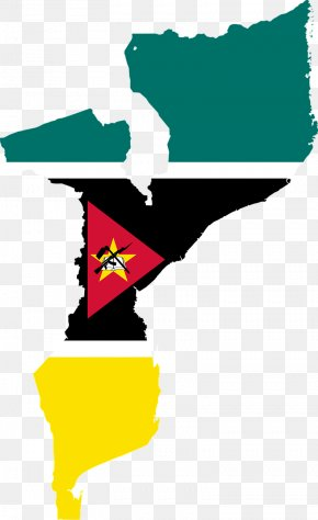 Map - Flag Of Mozambique Map National Flag PNG