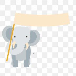 Elephant - Hathi Jr. Elephant Euclidean Vector PNG