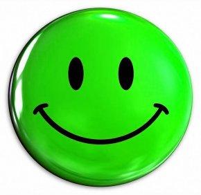 Green Smiley Face - Smiley Emoticon Clip Art PNG