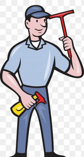 Window Cleaner's Whole Body Pattern - Window Cleaner Royalty-free Clip Art PNG