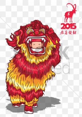 Goat - Goat Chinese New Year Lion Dance PNG