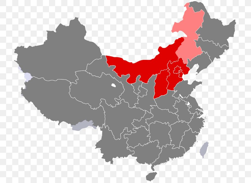 Southwest China South Central China Western China North ...