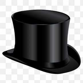 Black Cylinder Hat Image - Top Hat Clothing PNG