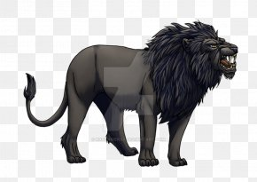 Lion - Lion Felidae Big Cat Painting Animal PNG