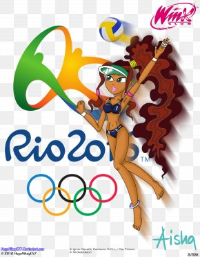 Rio Olympics Illustration - Olympic Games Rio 2016 The London 2012 Summer Olympics 2016 Summer Paralympics Paralympic Games PNG