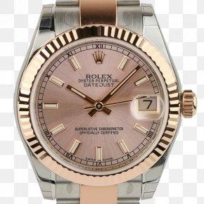 Watch - Rolex Datejust Watch Strap Platinum PNG