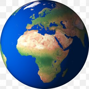 3D-Earth-Render-10 - North Africa Central Africa Sub-Saharan Africa West Africa Map PNG