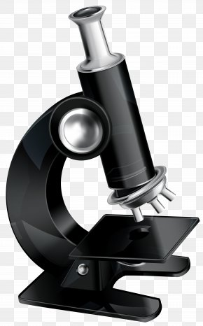 Microscope Clipart Image - Public Library Microscope PNG