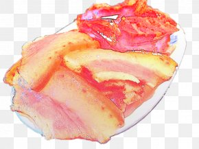 Hand-painted FoodBacon - Bacon Junk Food Frozen Dessert PNG