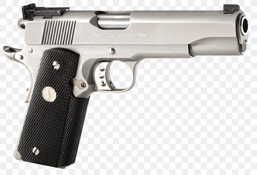 Colt's Manufacturing Company .45 ACP Firearm M1911 Pistol, PNG, 1800x1229px, 45 Acp, 45 Colt, Colt S Manufacturing Company, Air Gun, Airsoft Download Free