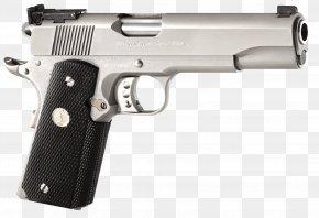 Handgun - Colt's Manufacturing Company .45 ACP Firearm M1911 Pistol PNG