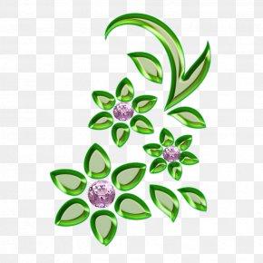Floral Design - Art Floral Design PNG