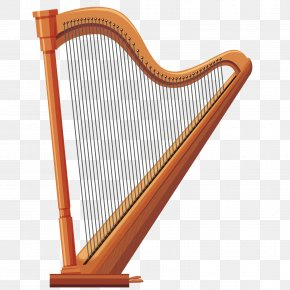 Vector Harp - Royalty-free Photography Illustration PNG