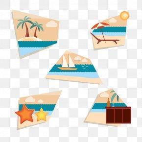 Vector Beach Resort - Seaside Resort Beach Gratis PNG