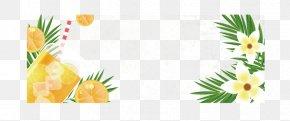 Great White Lemon - Ice Cream Sundae Banner Sales PNG