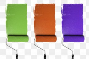 Paint Roller - Paint Rollers Paintbrush House Painter And Decorator PNG