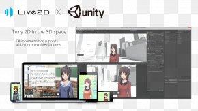 Unity 2d - Unity 2D Computer Graphics Live2D Software Development Kit Computer Software PNG