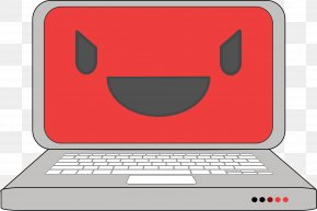 Smile Computer Cliparts - Computer Free Software Foundation Clip Art PNG