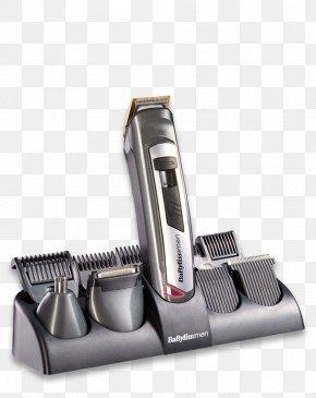 Beard - Hair Clipper BaByliss For Men Multi 10 Titanium Beard Comb PNG